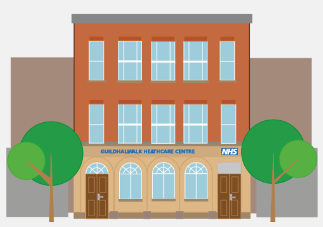 Service Update – Guildhall Walk Healthcare Centre